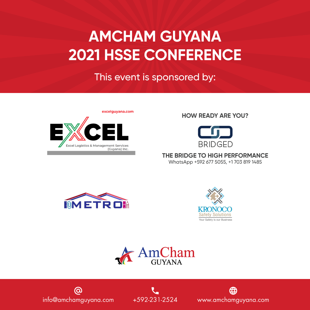 Thank you to our HSSE Conference sponsors!