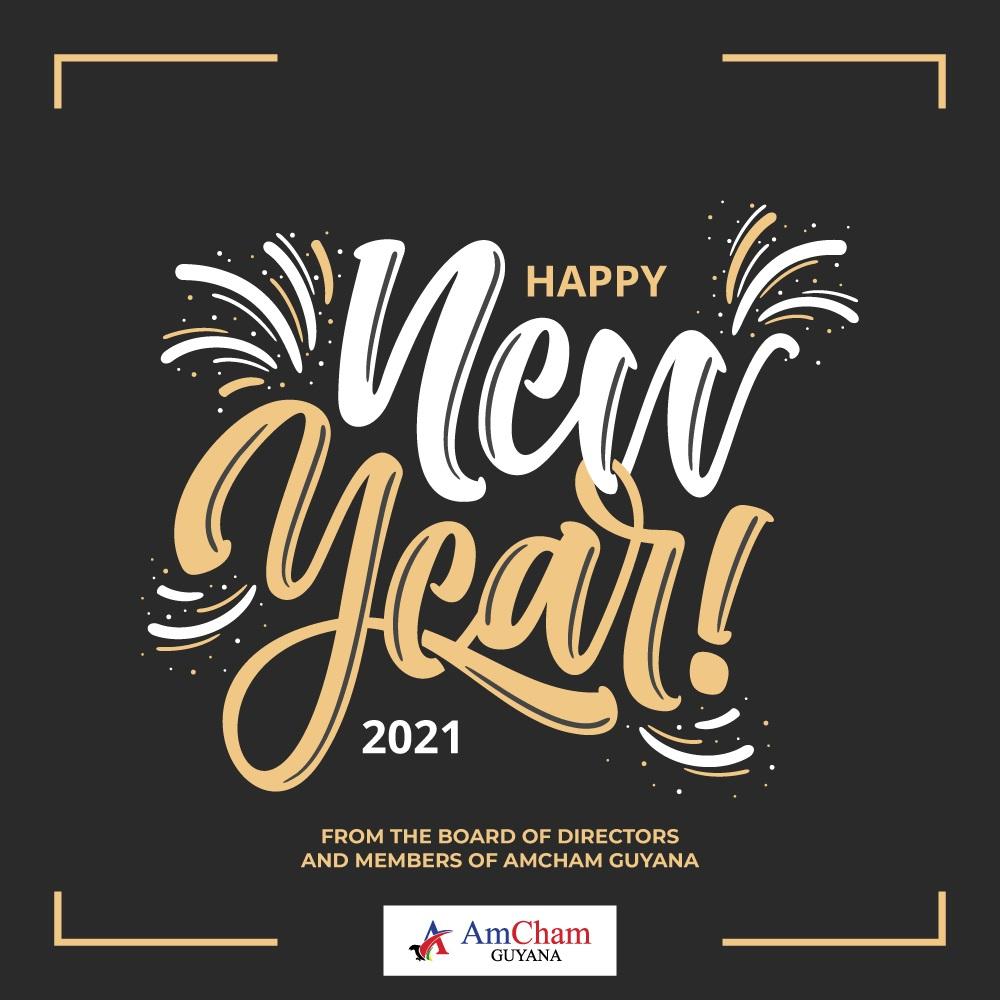 Happy New Year from AmCham Guyana!