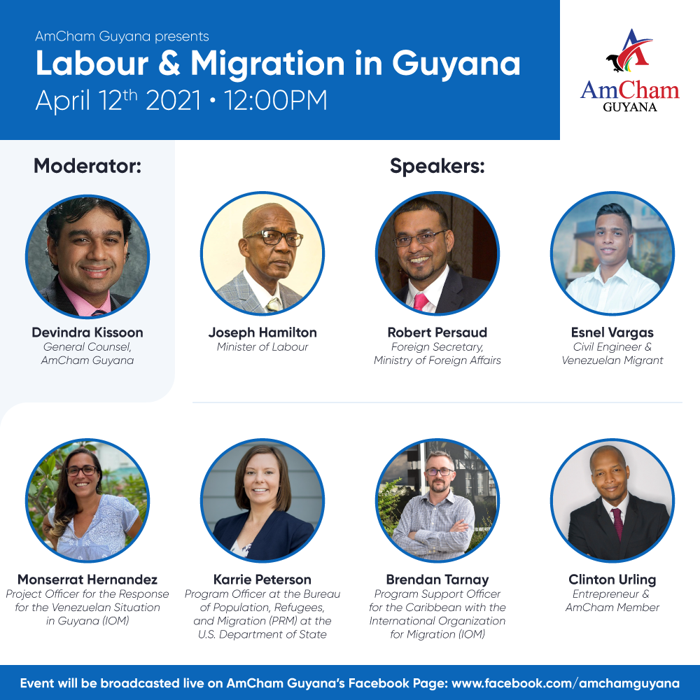 Labour & Migration in Guyana Webinar