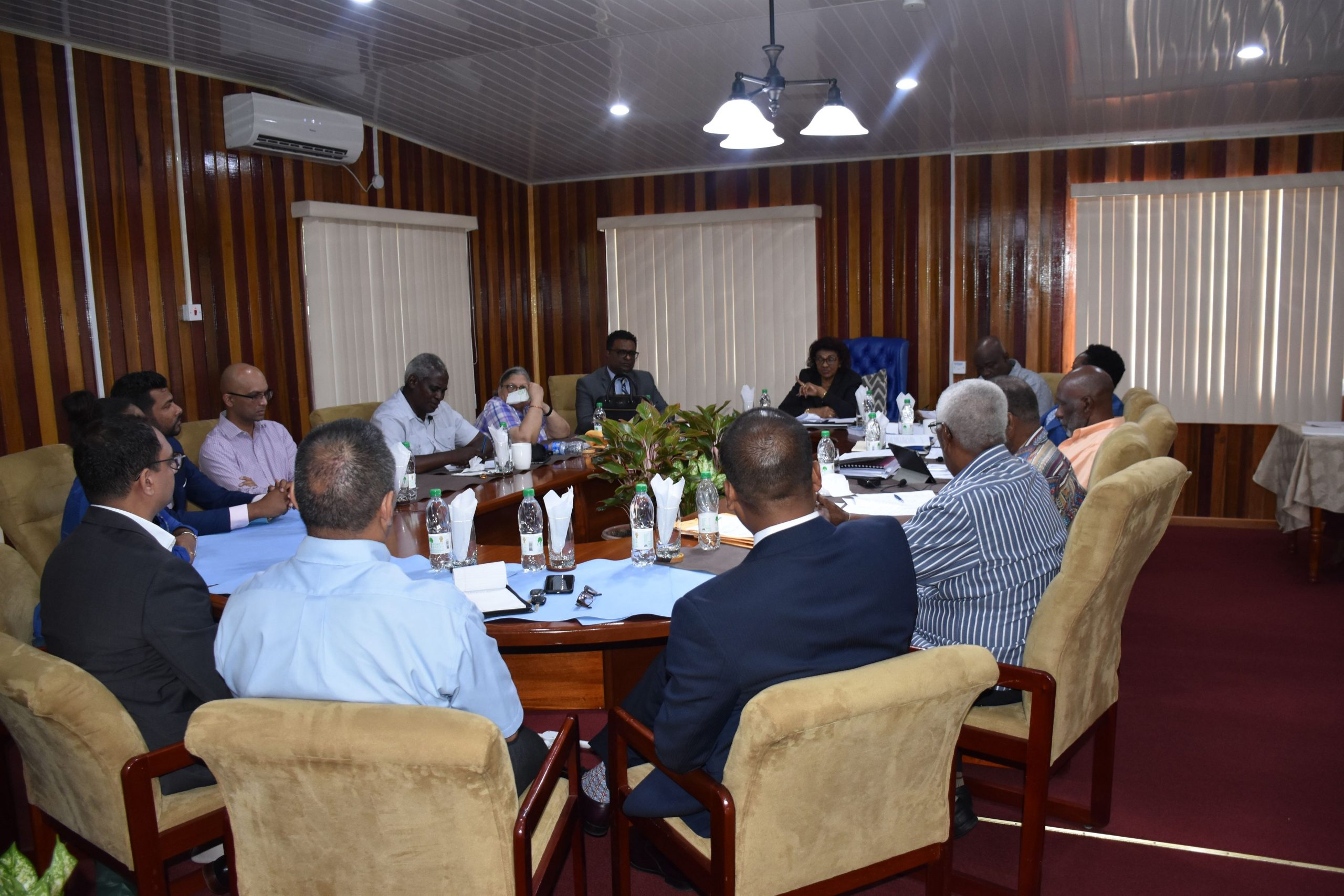 Meeting with GECOM Guyana