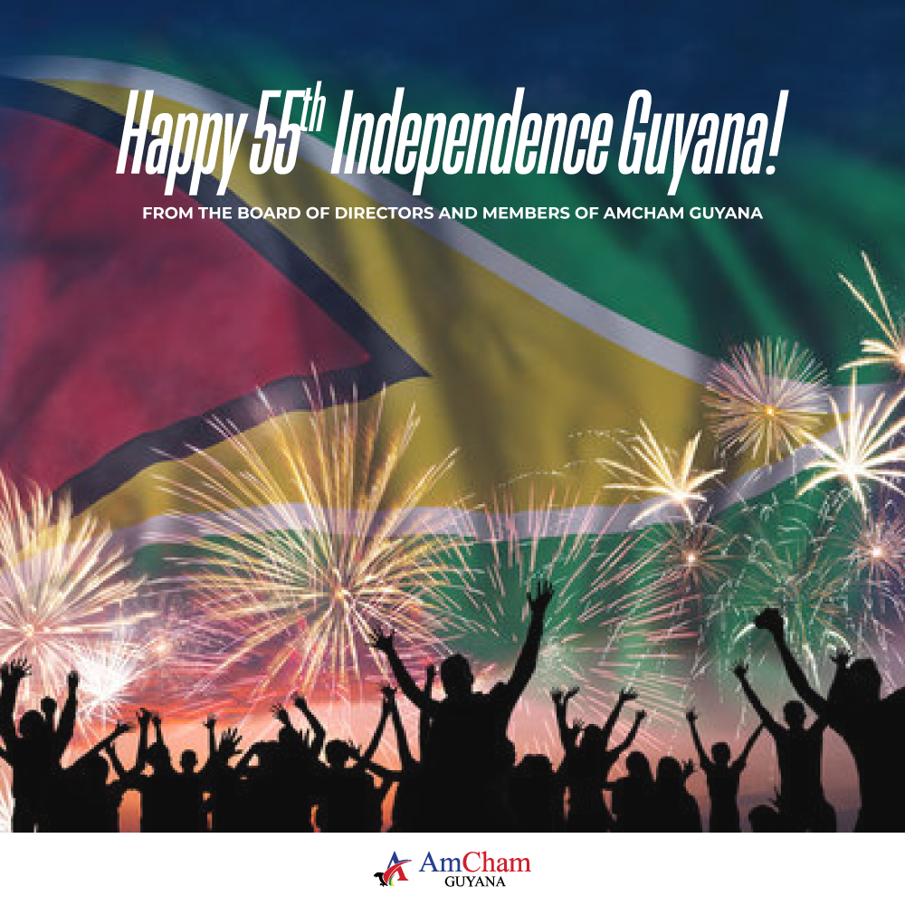 Happy 55th Independence Guyana!