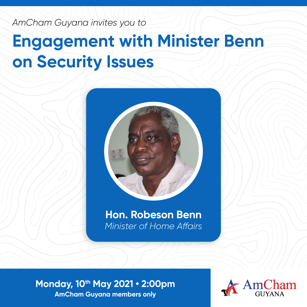 Engagement with Minister Benn on Security Issues