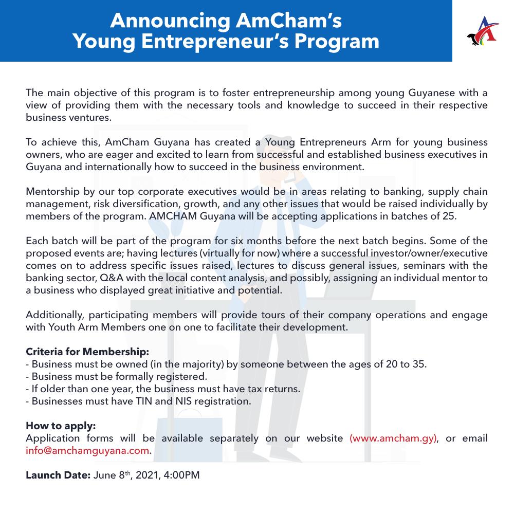 amcham youth arm announcement
