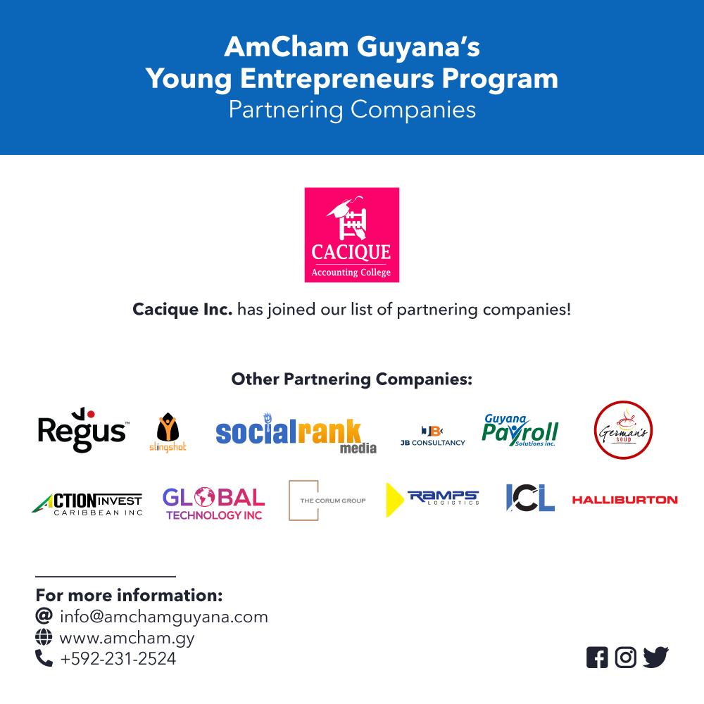 amcham youth entrepreneur program sponsors